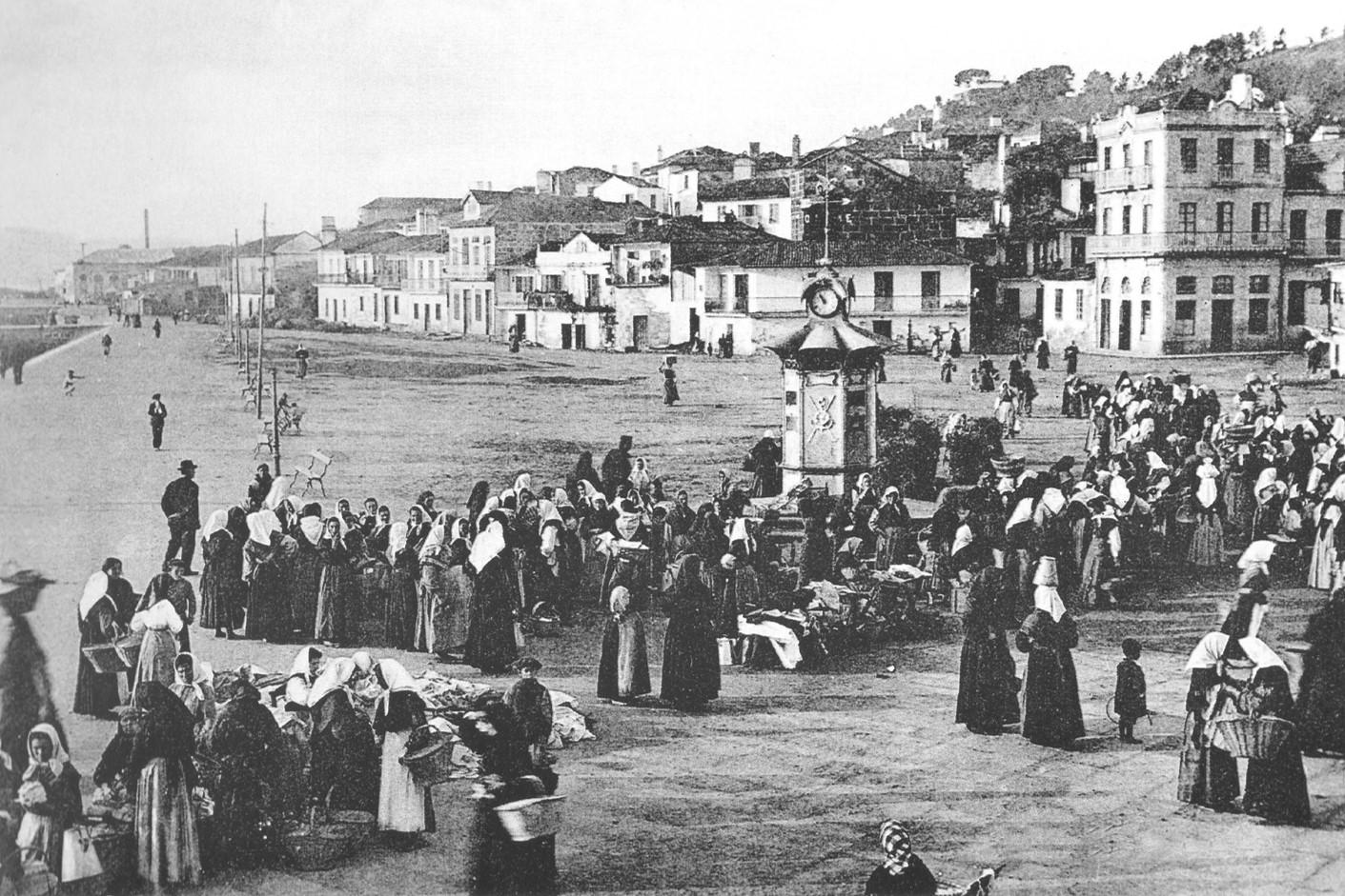 foto histórica cangas do morrazo