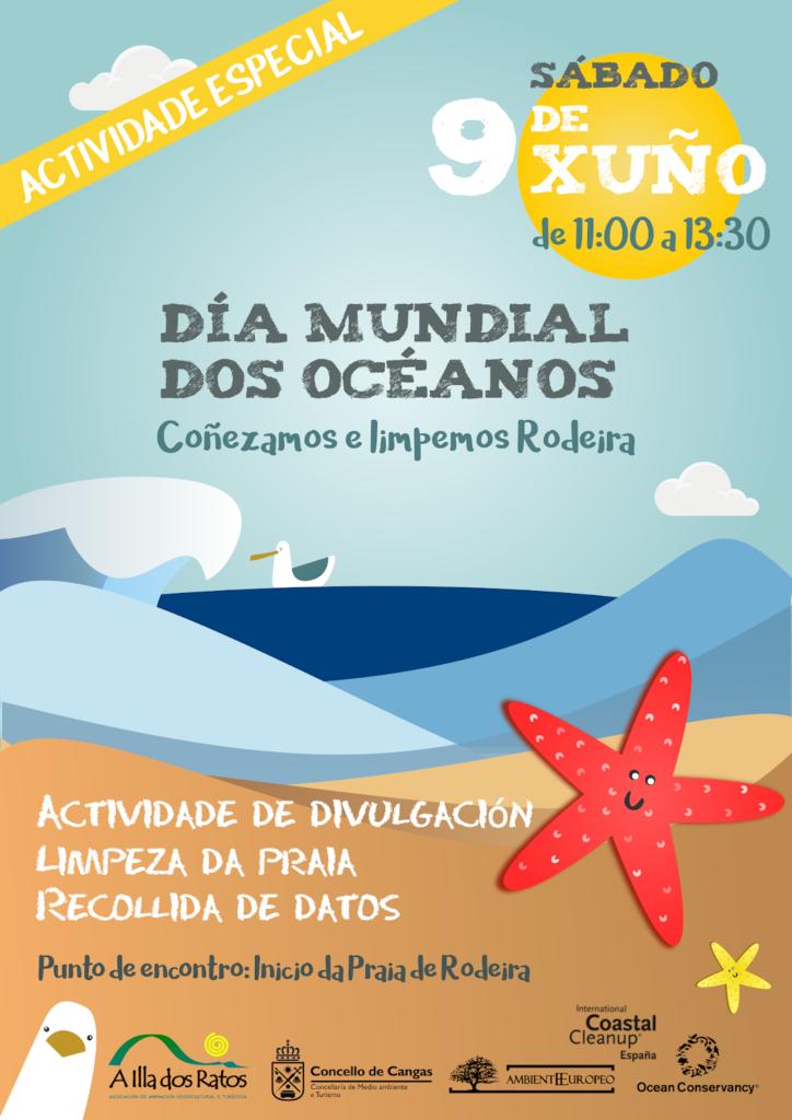cartaz dia mundial dos oceanos 2018
