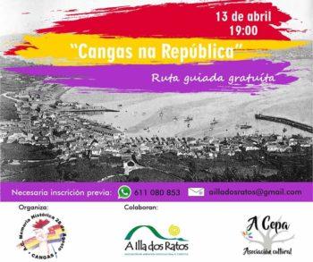 CARTEL RUTA REPUBLICA CANGAS