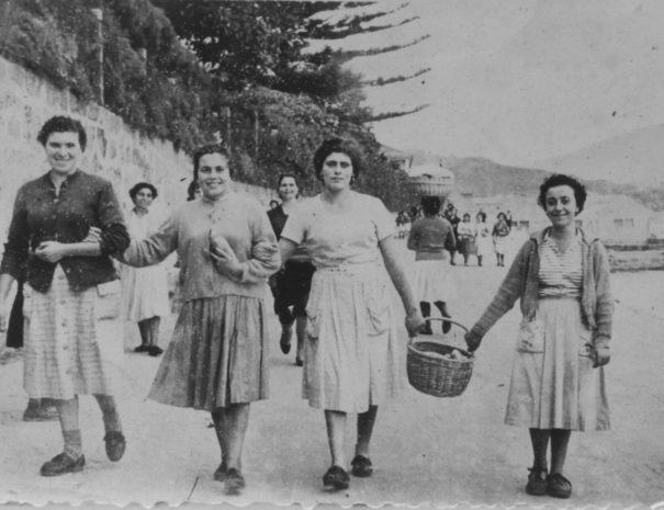 Camiño da Fábrica de Massó 1960