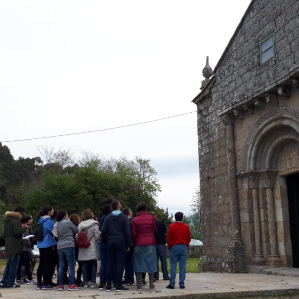 ruta guiada igrexa San Martiño de Moaña