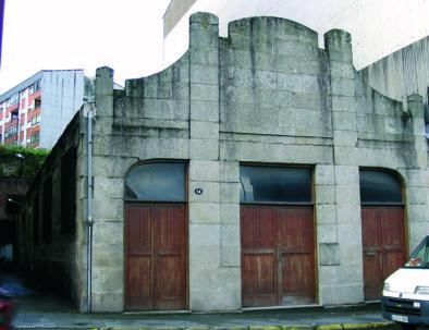 local da Alianza Mariñeira, Lonxa antiga, e hoxe sede da Banda de Música e da Cepa